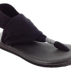 Sanuk Yoga Mat Sling Sandals Size 9